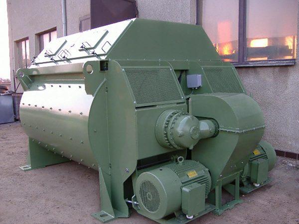 SERIE X concrete mixers Komplet