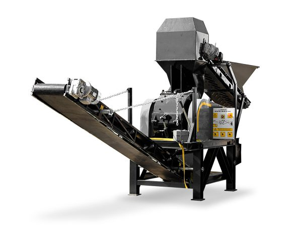 Mobile Hammer Mill Rock Crusher