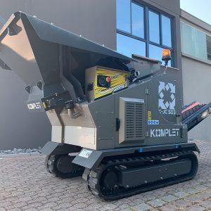 Mobile rock crusher K JC 503