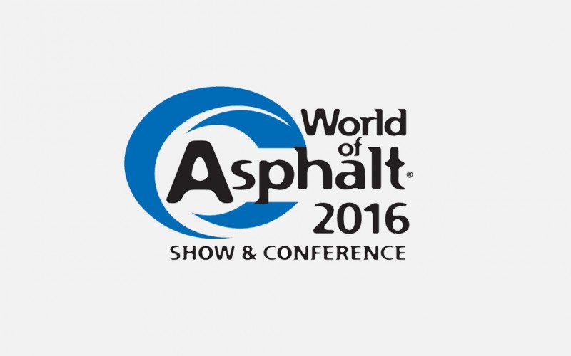 WORLD OF ASPHALT 2016