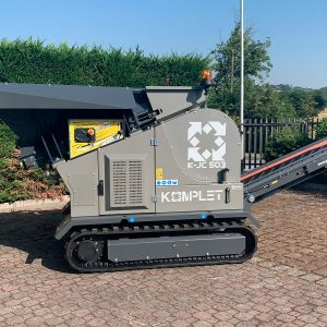 Remote-controlled Jaw Crusher